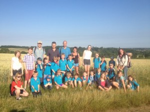 Beavers Hike to Chapmore End July '13